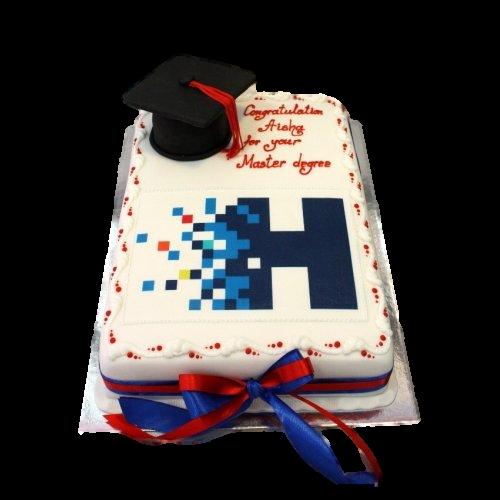 Graduation cake 29