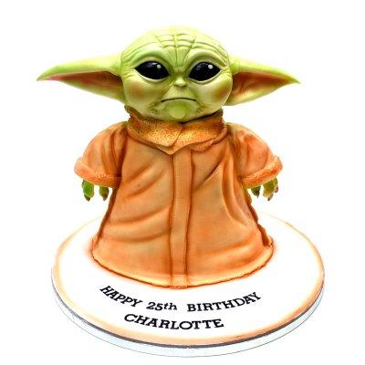 3D Yoda Cake