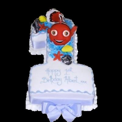 First Birthday Cake Nemo
