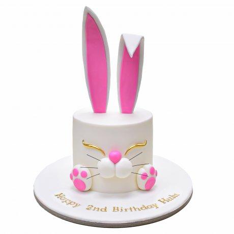 cute bunny cake 4 6
