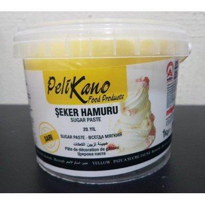 Pelicano Sugar Paste Fondant - yellow - 1 kg