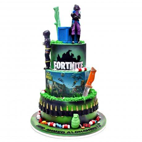 fortnite cake 9 6