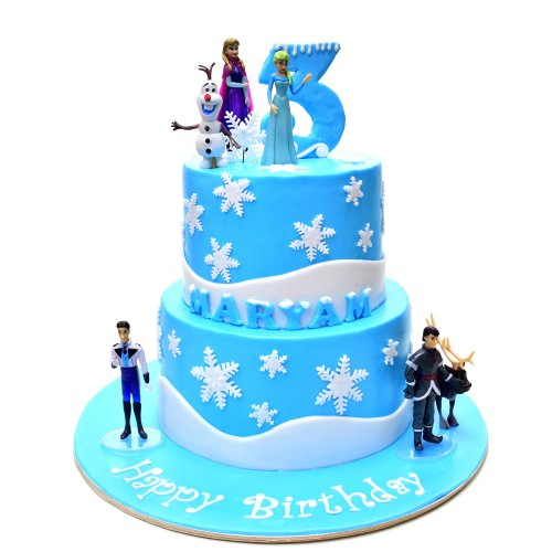 Disney Frozen Cake 34