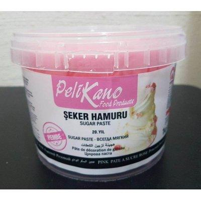 Pelicano sugar paste fondant pink