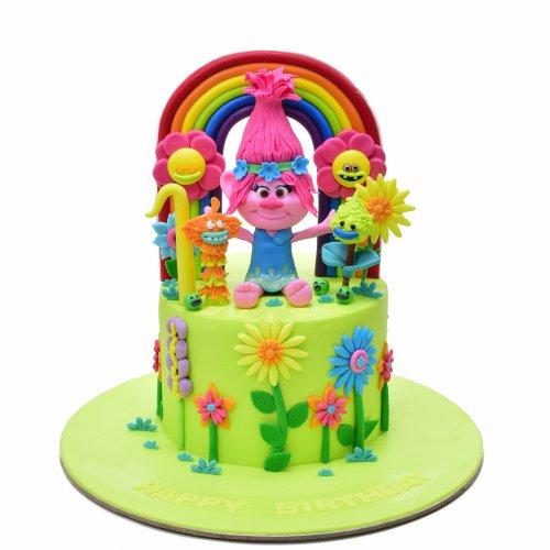 Poppy Trolls Cake 4