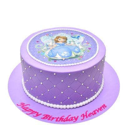Princess Sofia Cake 12