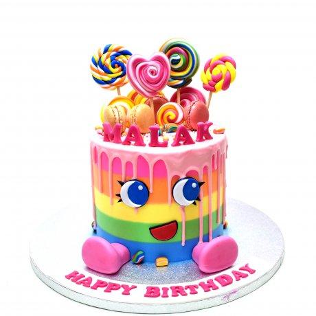 shopkins theme cake 4 6