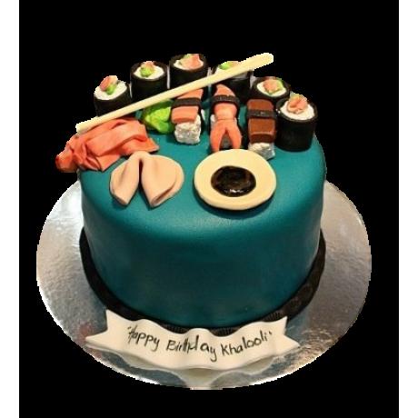 Sushi Cake 2