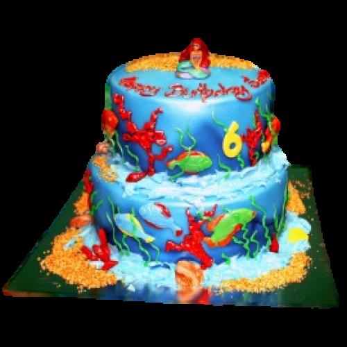 Ariel Cake 4