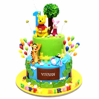 Winnie The Pooh Cake 29