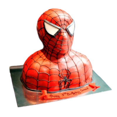 Spiderman Cake 3