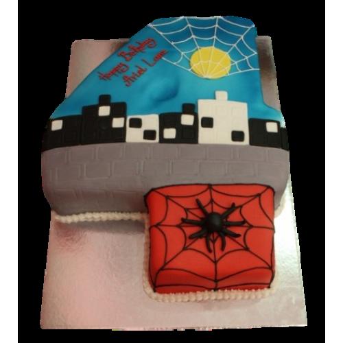 Spiderman Cake 6