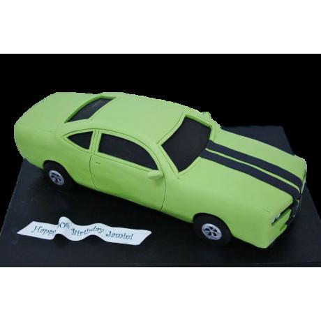 dodge challenger car cake 6