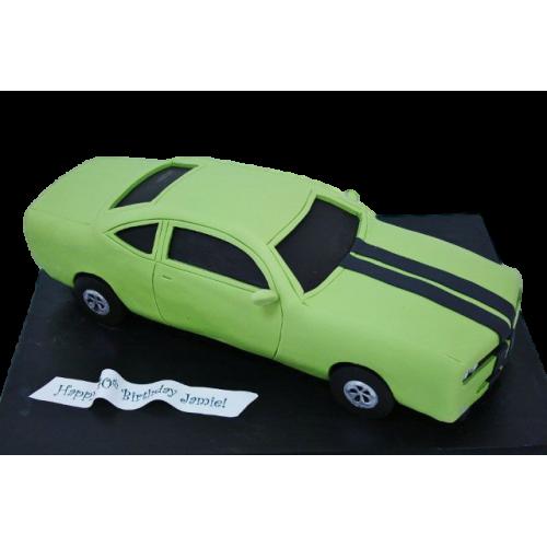 dodge challenger car cake 7