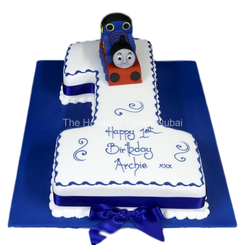 first birthday cake thomas tank 7