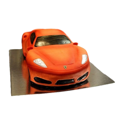 Ferrari Car Cake - Red