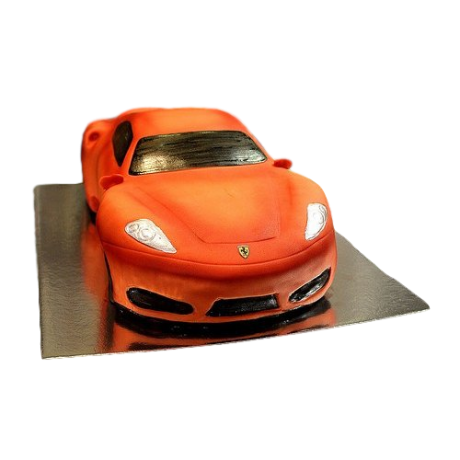 ferrari car cake - red 6