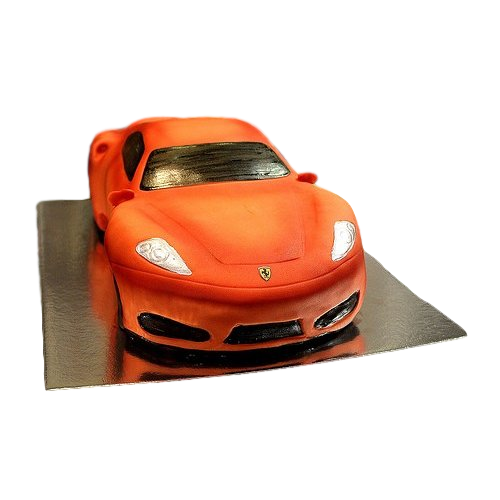 ferrari car cake - red 7