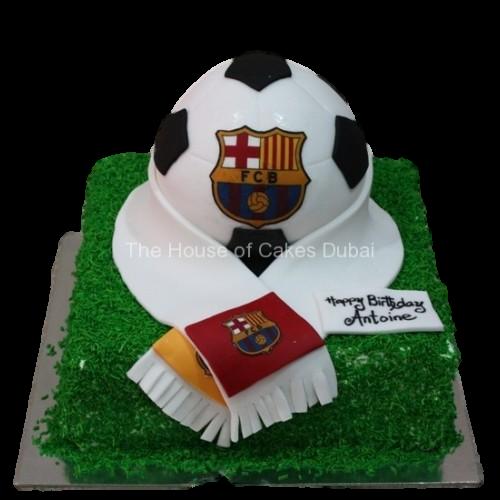 Barcelona cake 2