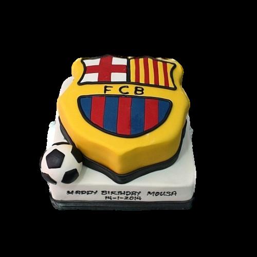 barcelona cake 8 7