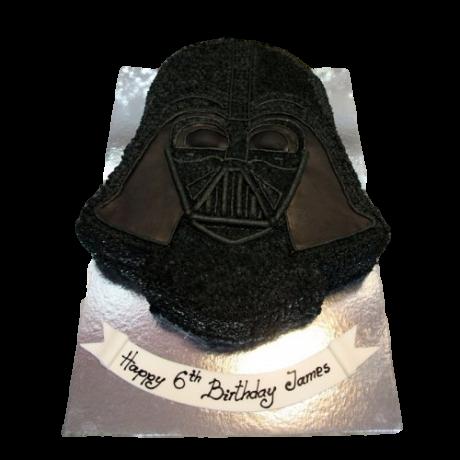 dart vader cake 3 6