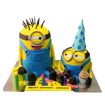 Minions cake 12