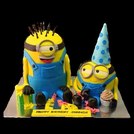 minions cake 12 12