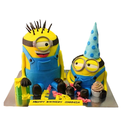 minions cake 12 13