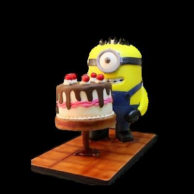 Minion cake 15