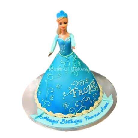 elsa cake 4 6