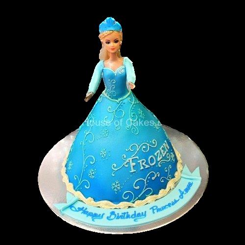 elsa cake 4 7