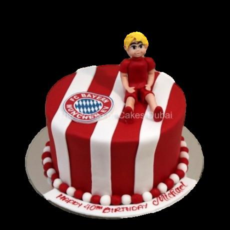 bayern munich cake 6