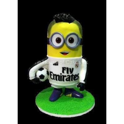 Ronaldo Minion cake