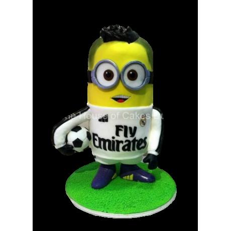 ronaldo minion cake 12