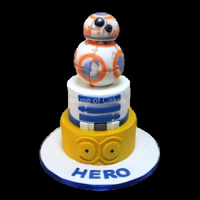 Star Wars cake 7