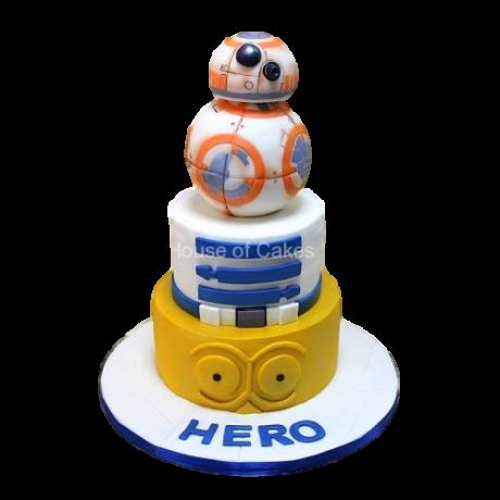 star wars cake 7 6