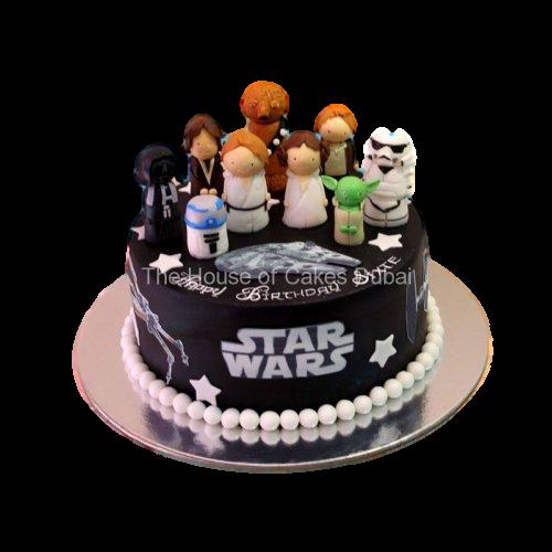 star wars cake 8 7