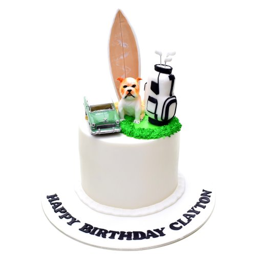 His favorite things cake 2