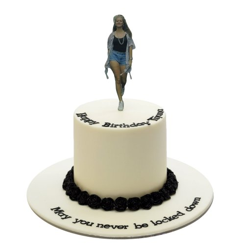 Cake with standing photo 2