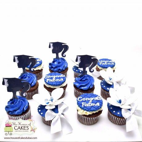 Graduation girl cupcakes 2