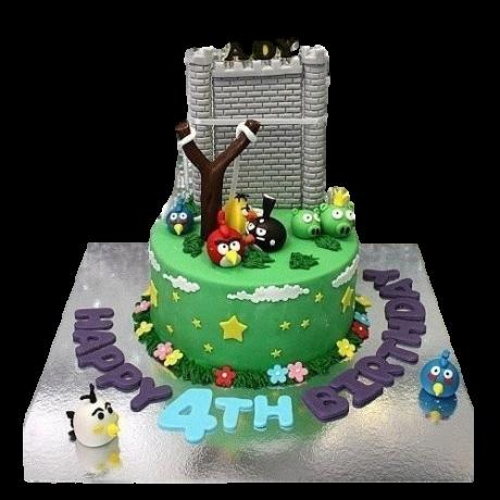angry birds cake 5 6