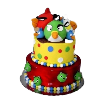 Angry Birds Cake 11
