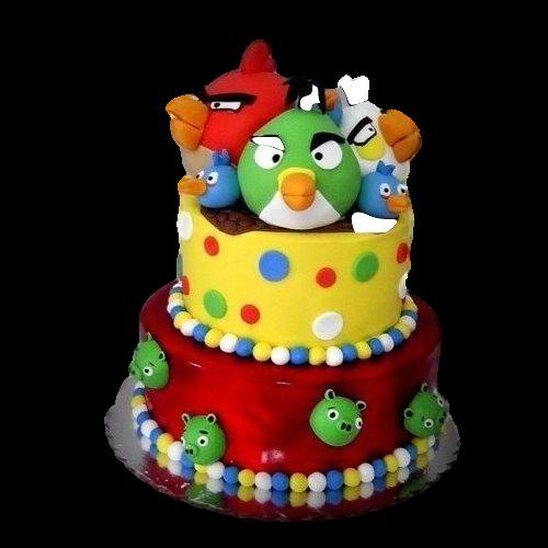 angry birds cake 11 7