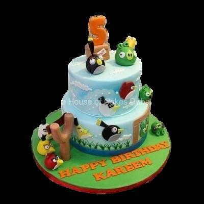 Angry Birds Cake 12