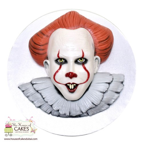 """It"" by Stephen King Cake"