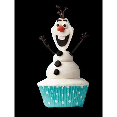 olaf cupcakes 6