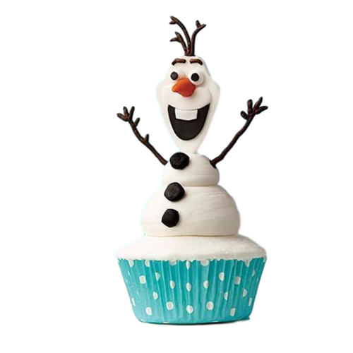 olaf cupcakes 7