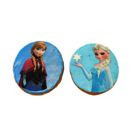 anna and elsa cookies 6