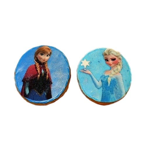 anna and elsa cookies 7