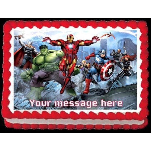 Avengers cake 3